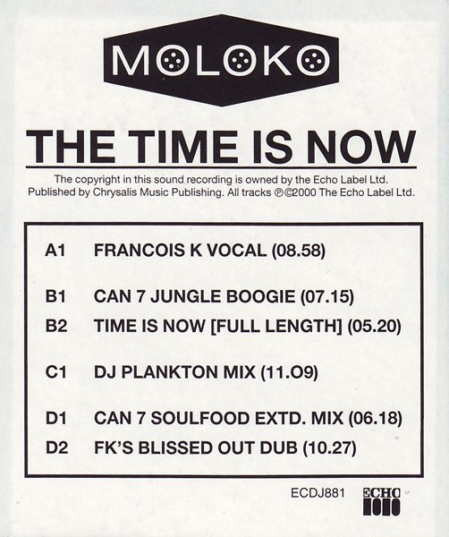 The Time Is Now Moloko